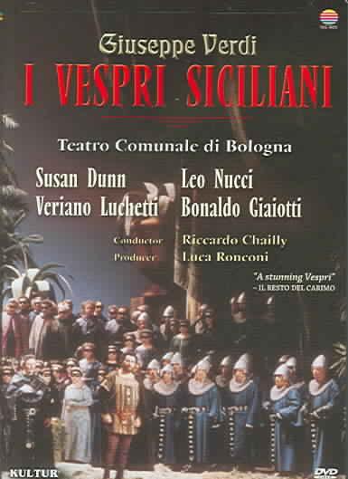 I VESPRI SICILIANI/TEATRO COMMUNALE D BY VERDI,GIUSEPPE (DVD)