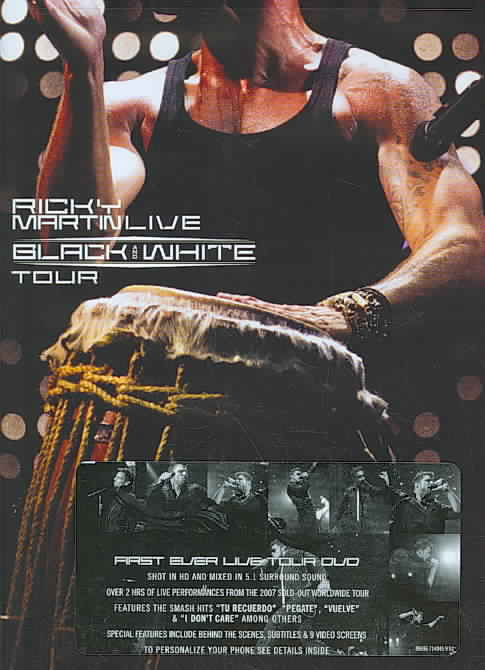RICKY MARTIN LIVE BLACK & WHITE TOUR BY MARTIN,RICKY (DVD)